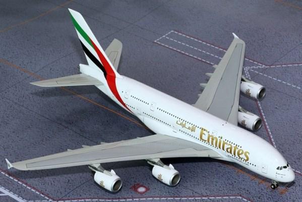 新品 ジェミニ200  A380 エミレーツ航空 A6-EEK G2UAE490
