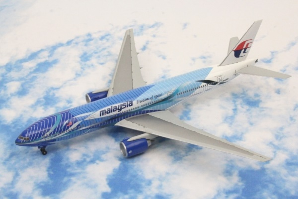 B777-200 マレーシア航空 Freedom of space 9M-MRD