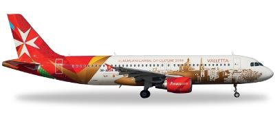 予約 ヘルパ  A320 エア・マルタ 特別塗装 「ヴァレッタ2018」 9H-AEO [557023]