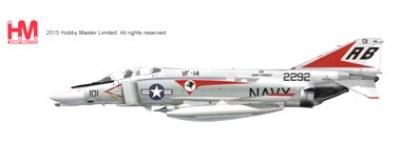 予約 ホビーマスター  F-4B ファントムⅡ VF-14 トップハッターズ 1972[HA1970]