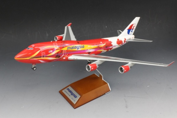 中古 JCウイングス  B747-400 マレーシアAn experience redefined 9M-MPB