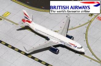 新品 ジェミニジェット  A320W ブリティッシュエアウェイズ G-EUYV[GJBAW1410]