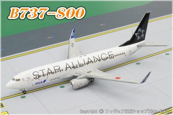 中古 全日空商事 B737-800 ANA スターアライアンス JA51AN[NH40032]