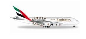 予約 ヘルパウイングス A380 エミレーツ航空 Real Madrid[529242]