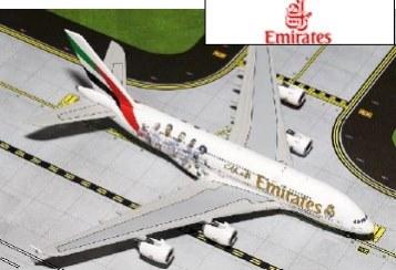 新品 ジェミニジェット A380-800 エミレーツ航空 Real Madrid A6-EOA[GJUAE1557]