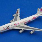 JAL/リゾッチャピンク B747-300 JA8187