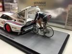 【ミニカー紹介】スパーク 1/43 ポルシェ 935 Bicycle speed record マルティニ!